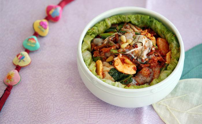 Recetas De La Cocina Coreana Bossam Kimchi Kimchi