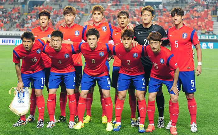 Resultado de imagen para equipo República de Corea Fútbol Copa Mundial 2018