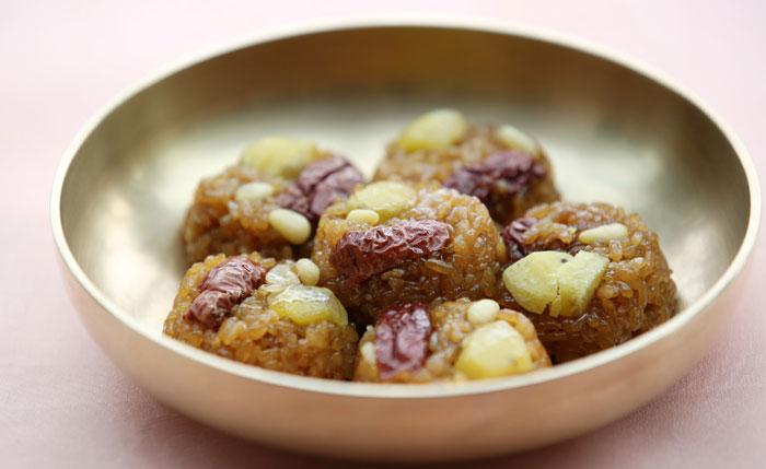 Cocina Coreana | Recetas De La Cocina Coreana Yaksik Arroz Dulce Con Nueces Y