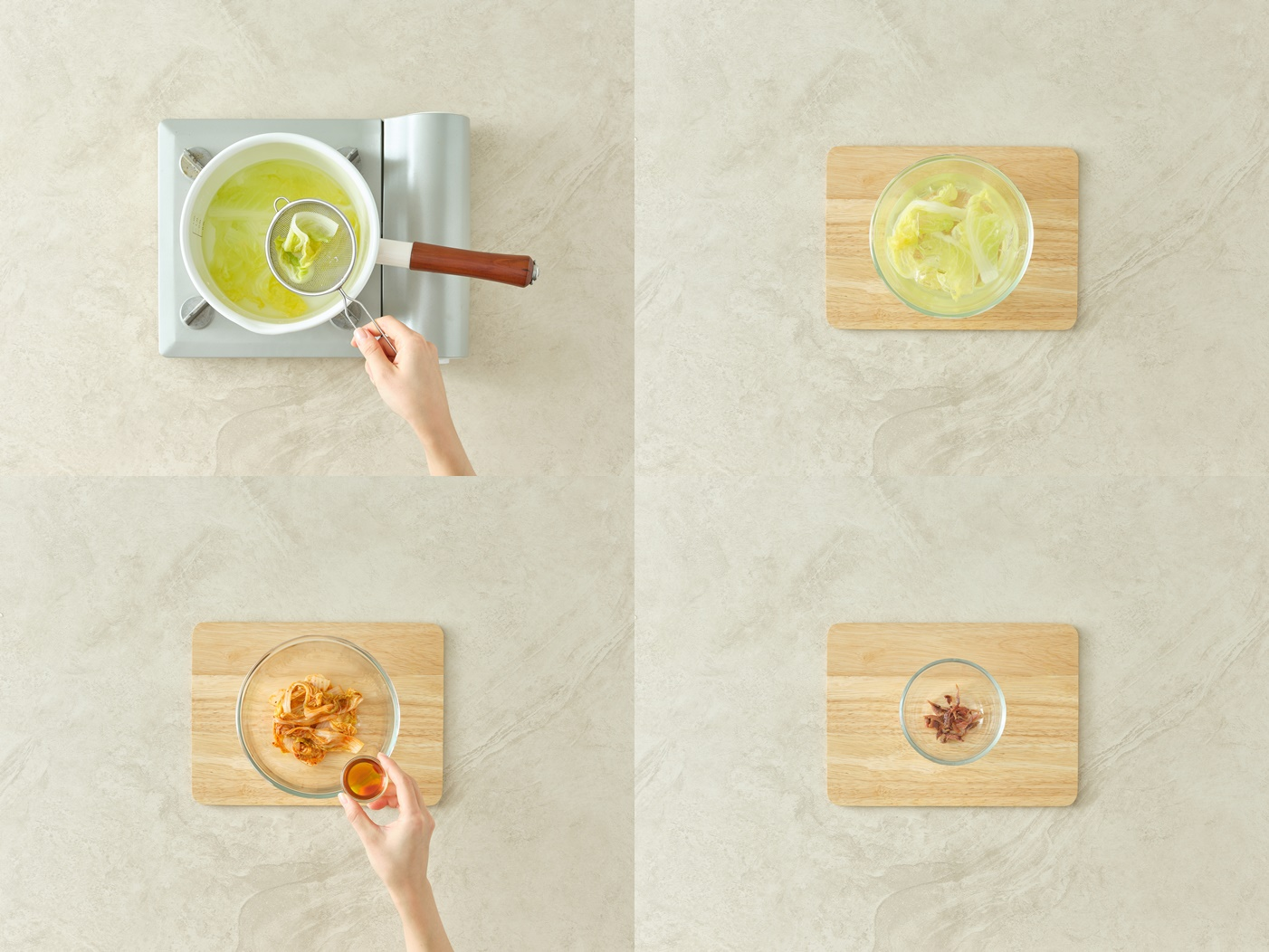 Kimchi Tapas Steps 1-4